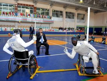 Азербайджанские фехтовальщики-паралимпийцы выступят на чемпионате мира в Венгрии