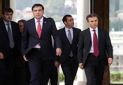 Президент и премьер Грузии переругались во время официального приема