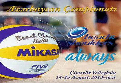 Определились чемпионы Азербайджана по пляжному волейболу