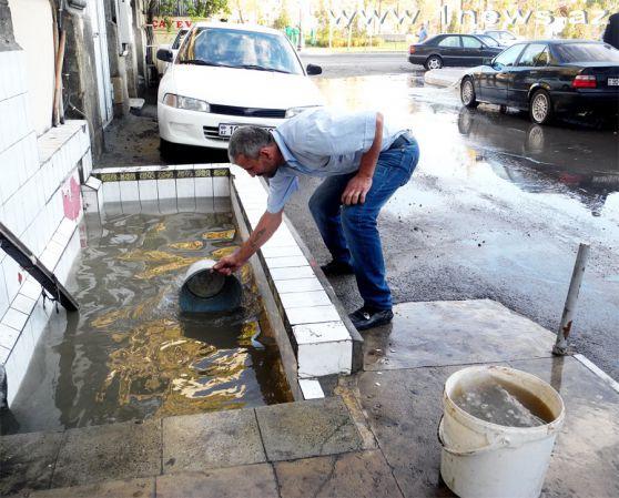 Баку «под водой» после дождя