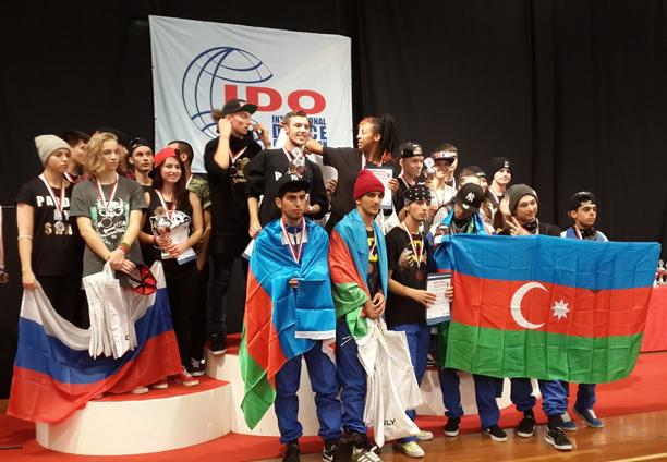 Азербайджанские танцоры вошли в  пятерку лучших на Чемпионате мира по танцам – ФОТО