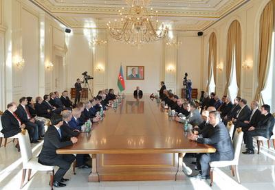 Один необычный воскресный день в резиденции Президента Азербайджана