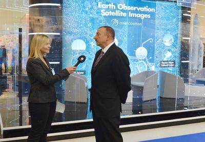 Ильхам Алиев: «Мы хотим стать также центром современных технологий в нашем регионе» - ФОТО
