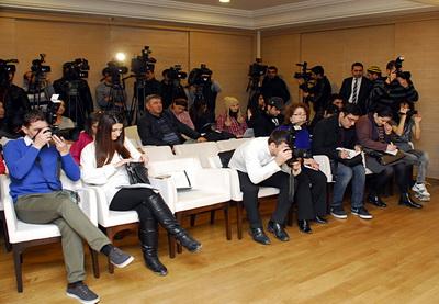 Киностудия «Азербайджанфильм» подвела итоги 2013 года – ФОТО
