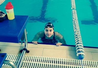 Азербайджанская пловчиха завоевала лицензию на Юношескую Олимпиаду-2014
