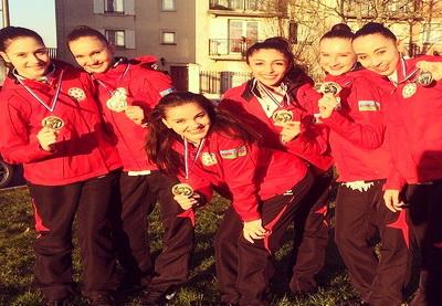 Групповая команда Азербайджана по художественной гимнастике стала победительницей Гран-при во Франции