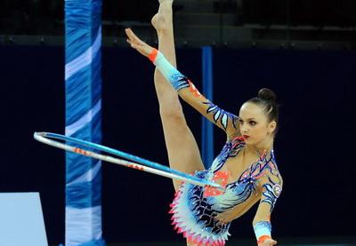 Марина Дурунда стала двукратной чемпионкой Азербайджана по художественной гимнастике - ФОТО