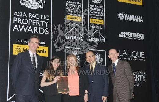 Архитектурная компания MStudio завоевала первое место на международном конкурсе Asia Pacific Property Awards – ФОТО