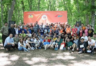 В Азербайджане прошел международный турнир по спортивному ориентированию - ФОТО