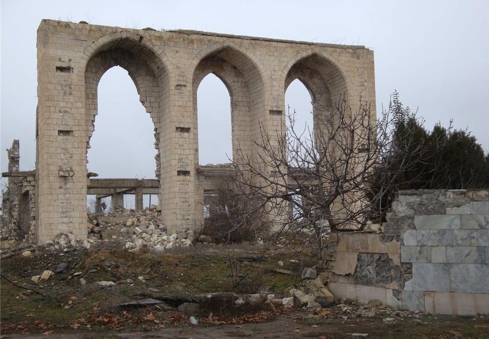 21 год без Агдама. Во что армяне превратили некогда прекрасный азербайджанский город - ФОТО