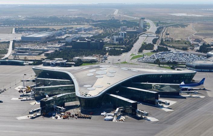 В Международном аэропорту Гейдар Алиев открылся Центр контроля полетных операций