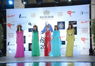 206fb0682caab60 В рамках «Baku Fashion Night 2014» состоялся показ моделей азербайджанских  и украинского дизайнеров –