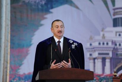 Ильхам Алиев: «Основа нашего государства и залог наших успехов в будущем - это опора на традиционные ценности нашего народа» - ФОТО