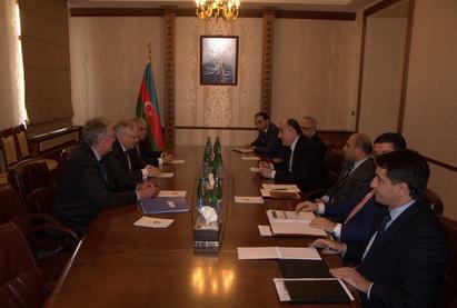 Глава МИД Азербайджана встретился с делегацией Европейского суда по правам человека
