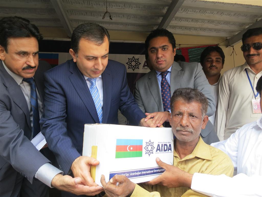 AİDA  провело очередную  гуманитарную акцию в Пакистане - ФОТО