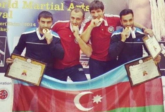 Азербайджанские бойцы завоевали 11 медалей на фестивале в Турции