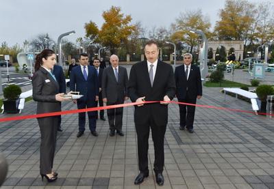 Ильхам Алиев принял участие в открытии Сабирабадского регионального центра «ASAN xidmət» - ФОТО