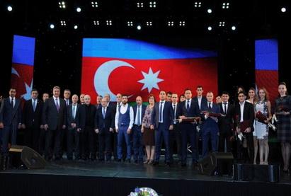 Названы лучшие спортсмены Азербайджана в 2014 году - ФОТО