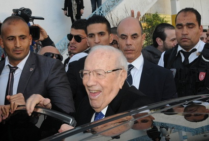 Бежи Каид эс-Себси вступит в должность президента Туниса