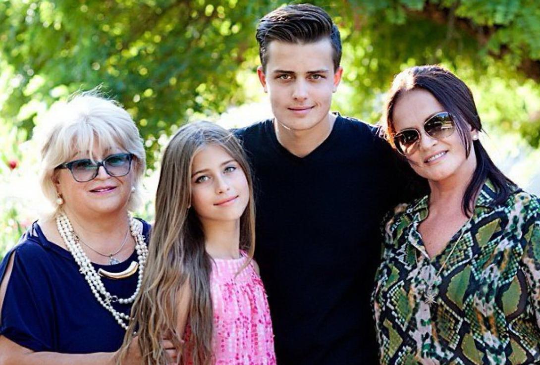 София ротару с внуками и детьми фото