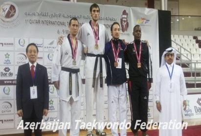 Азербайджанский таэквондист стал победителем турнира в Катаре