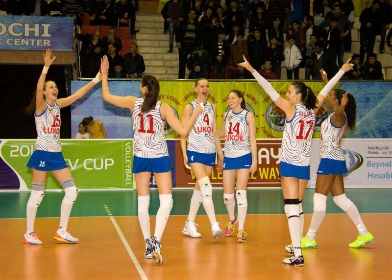 Сегодня азербайджанский волейбольный клуб рабита в стамбуле провел полуфинальный матч лиги чемпионов против