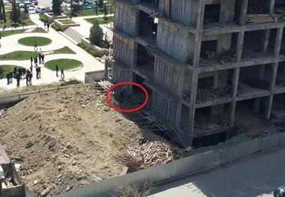 Возбуждено уголовное дело по факту гибели рабочего на стройке в Баку - ФОТО - ВИДЕО – ОБНОВЛЕНО