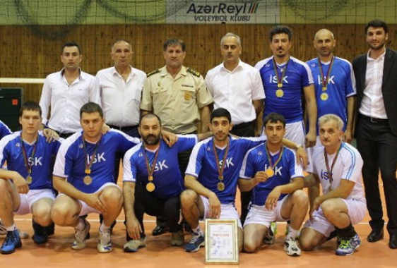 Определился чемпион Азербайджана по волейболу