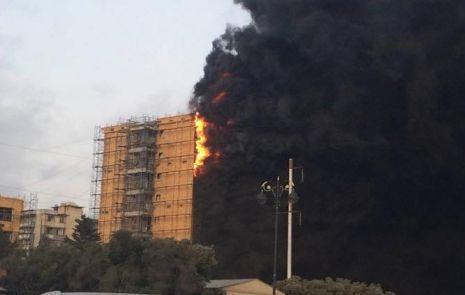 «Сгорел как лист бумаги»: что послужило причиной пожара в доме №16? – ФОТО - ВИДЕО