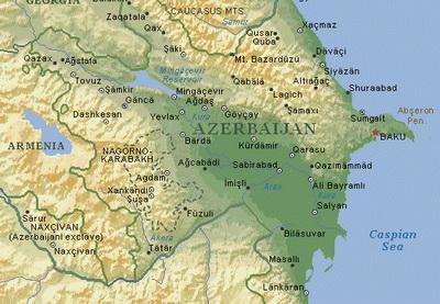 Где проходит граница Европы в Азербайджане?
