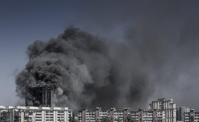 Задержан руководитель компании, облицовывавшей сгоревшее здание в Баку