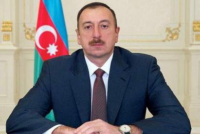 Президент Ильхам Алиев подписал распоряжение о создании Госкомиссии в связи с пожаром в жилом здании в Баку