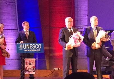Председатель Бакинского Фонда Наследия Нобеля Тогрул Багиров стал лауреатом ЮНЕСКО - ФОТО