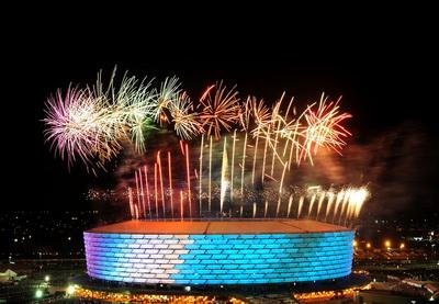 В Баку прошла церемония открытия 1-х Европейских игр - ФОТО - ВИДЕО - ОБНОВЛЕНО