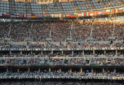 Делегацию Армении на Олимпийском стадионе в Баку встретили скандированием «Азербайджан»