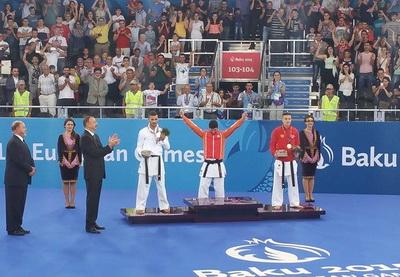 Евроигры: азербайджанские каратисты завоевали два золота и две бронзы - ФОТО - ОБНОВЛЕНО