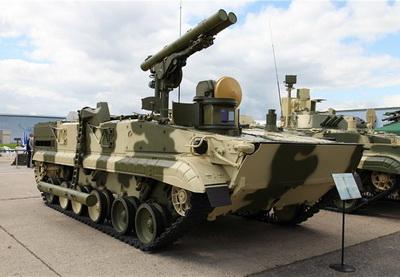 Азербайджан получил противотанковую установку «Хризантема-С» - ФОТО - ВИДЕО