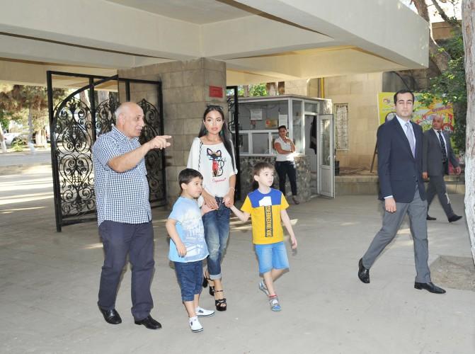 По инициативе Лейлы Алиевой в Бакинском зоопарке установлен новый вольер - ФОТО