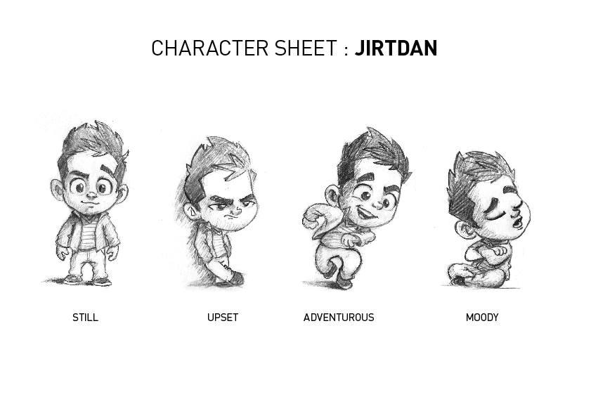 Продолжается работа над азербайджанским анимационным фильмом «Джыртдан и волшебный халат» - ВИДЕО