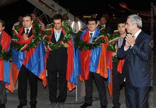 Серж Саргсян порекомендовал армянским шахматистам участвовать на Кубке мира в Баку