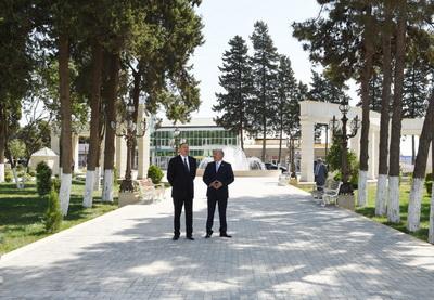 В городе Гейтепе открылся новый парковый бульварный комплекс имени Гейдара Алиева - ФОТО