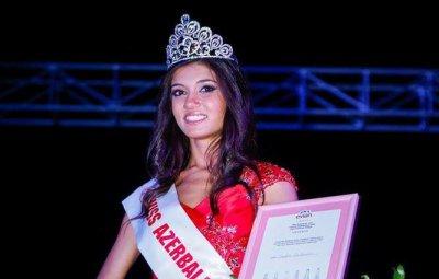«Мисс Азербайджан-2014» Джавидан Гурбанова и ее мать попали в аварию – ФОТО
