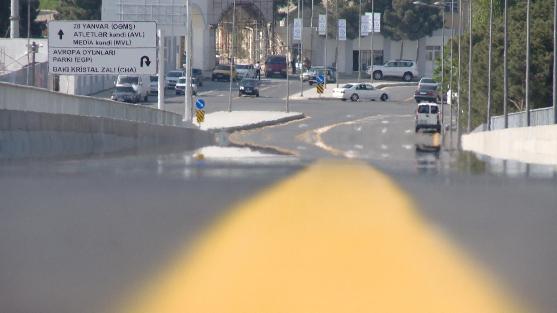 Названы дороги Баку, на которых автобусам и оперативным службам выделяются отдельные полосы – СПИСОК