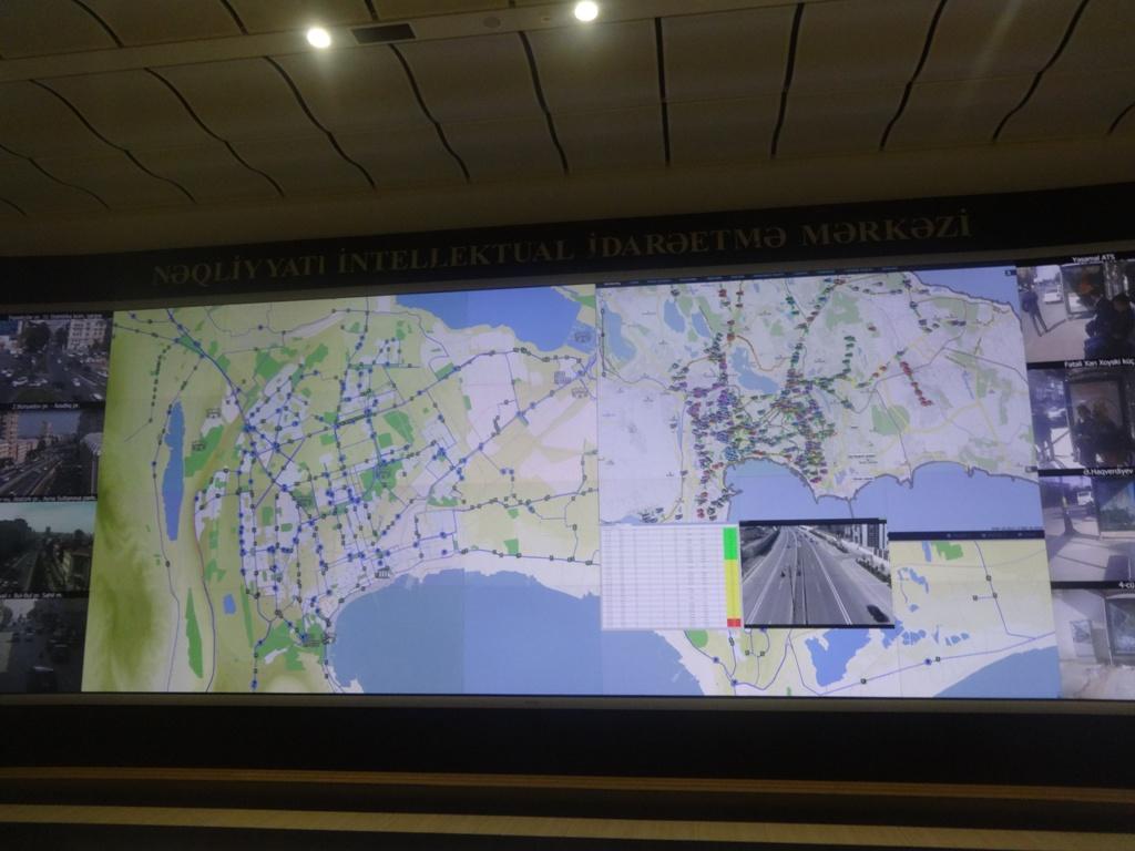 В Баку запускается революционная система контроля над движением автобусов – ФОТО