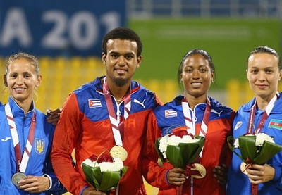Азербайджанская легкоатлетка стала призером чемпионата мира – ВИДЕО