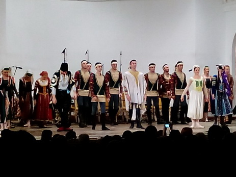 В Азербайджанской государственной филармонии торжественно отметили юбилей выдающегося танцора - ФОТО