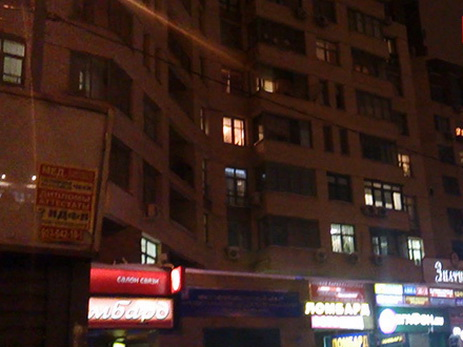 В столицеРФ изокна дома убили девушку сгромкоговорителем