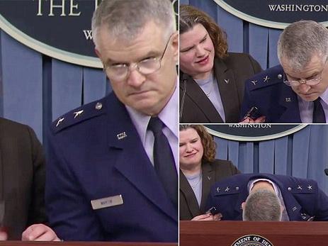 Американский генерал упал вобморок после вопроса о финансовом снабжении F-35