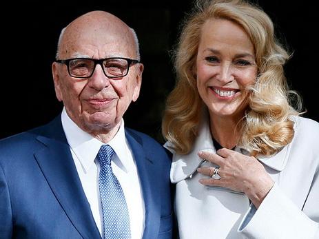 84-летинй медиамагнат Руперт Мердок женился на экс-супруге солиста The Rolling Stones