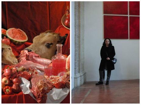 Жизнь в ожидании трагедии, или Проект Сабины Шихлинской под названием «Опасный красный» - ФОТО
